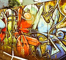 Gates of Graffiti by Jason Dymock Photography