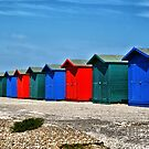 Beach Huts by davesphotographics