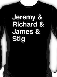 Top Gear UK Band Tribute T-Shirt