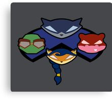 Sly and Co. Gauge 2 Canvas Print