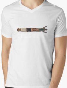 The 11th Doctors is Bigger! Mens V-Neck T-Shirt