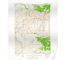 USGS Topo Map Oregon Eagle Rock 282443 1946 62500 Poster