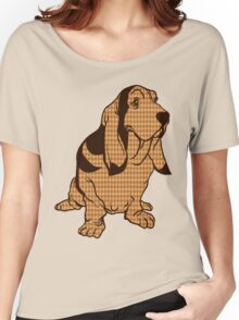 Henry the Houndstooth Hound Women's Relaxed Fit T-Shirt