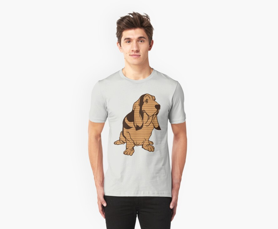Henry the Houndstooth Hound by drawsgood