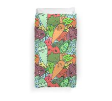 Fruits and veggies! Duvet Cover