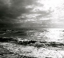Moody Seas by Lou Wilson