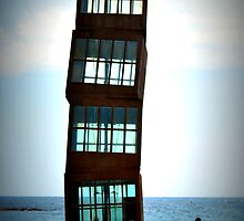 Twisted building by Carlos Rodriguez