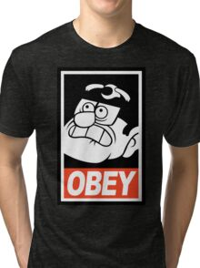 OBEY Stanley Pines Tri-blend T-Shirt