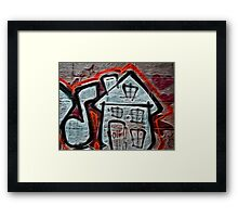 House Music Framed Print