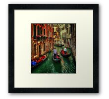When In Venice Framed Print