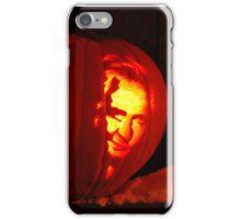 "red neck jack-o-lantern ""jesus & Johnny cash"" iPhone Case/Skin"