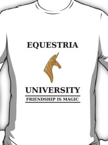 Equestria University T-Shirt