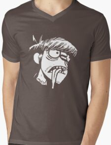 Murdoc Niccals' Decapitated Head (Gorillaz) Mens V-Neck T-Shirt