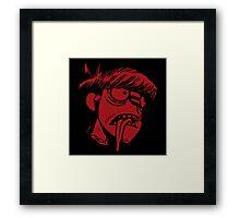 Murdoc Niccals' Decapitated Head (Gorillaz) Framed Print