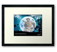 Apollo Moon Framed Print