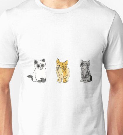 cat tumblr drawings  Unisex T-Shirt