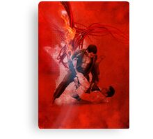Brazilian Jiu Jitsu Fire Canvas Print