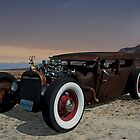 1929 Ford Model A Sedan Rat Rod by TeeMack