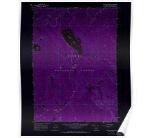 USGS Topo Map Oregon Sellers Marsh 281437 1967 24000 Inverted Poster