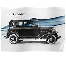 1932 Chevrolet Poster