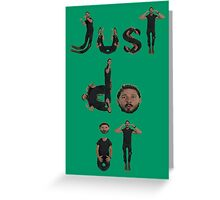 Shia Labeouf - Just Do It Greeting Card