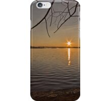 Sunrise at Lake Burley Griffin in Canberra/ACT/Australia (5) iPhone Case/Skin