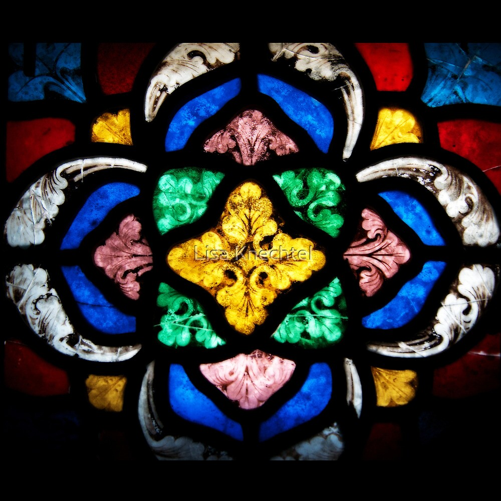 Stained Glass Flourishes by Lisa Knechtel
