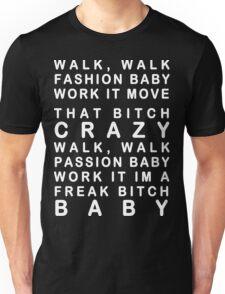 Lady Gaga Bad Romance Unisex T-Shirt
