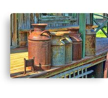 1880 Recycling Canvas Print