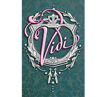 "Vidi - ""I saw"" Photographic Print"