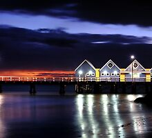 Sunrise - Busselton Jetty, Western Australia by Matt Harvey