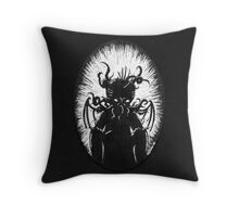 House in R'lyeh, Int. Throw Pillow