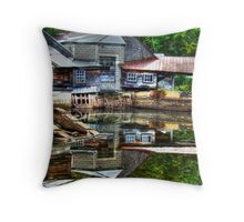 Reflecting One's Age Throw Pillow