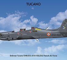 Embraer Tucano France 2 by Claveworks
