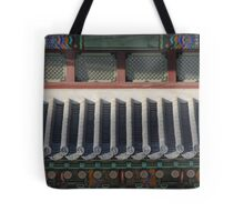Korean Palace Roof Tote Bag