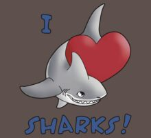 I Love Sharks! Kids Clothes