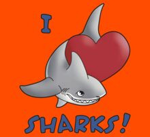 I Love Sharks! Kids Clothes