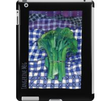 Broccoli and Gingham iPad Case/Skin