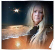 Janine...Self Portrait Poster