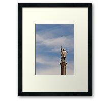 Plaza de Colon - Madrid Spain Framed Print