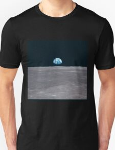 Apollo Archive Earth Rise over Moon T-Shirt