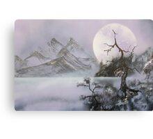 Violet Moon Canvas Print