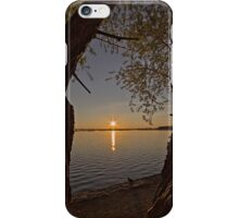 Sunrise at Lake Burley Griffin in Canberra/ACT/Australia (7) iPhone Case/Skin