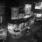 Times Square B&W 2 by Polly Greathouse
