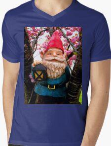 Spring Bunches Gerome Mens V-Neck T-Shirt