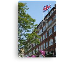 God save the Goring Canvas Print