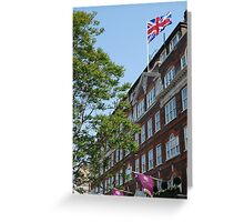 God save the Goring Greeting Card