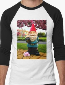 School Gnome Men's Baseball ¾ T-Shirt