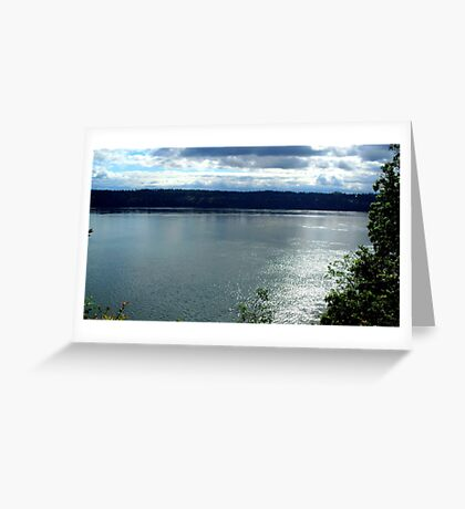 Puget Sound 04 Greeting Card