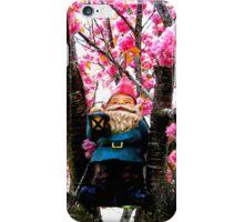 Sakura Climber Gnome iPhone Case/Skin